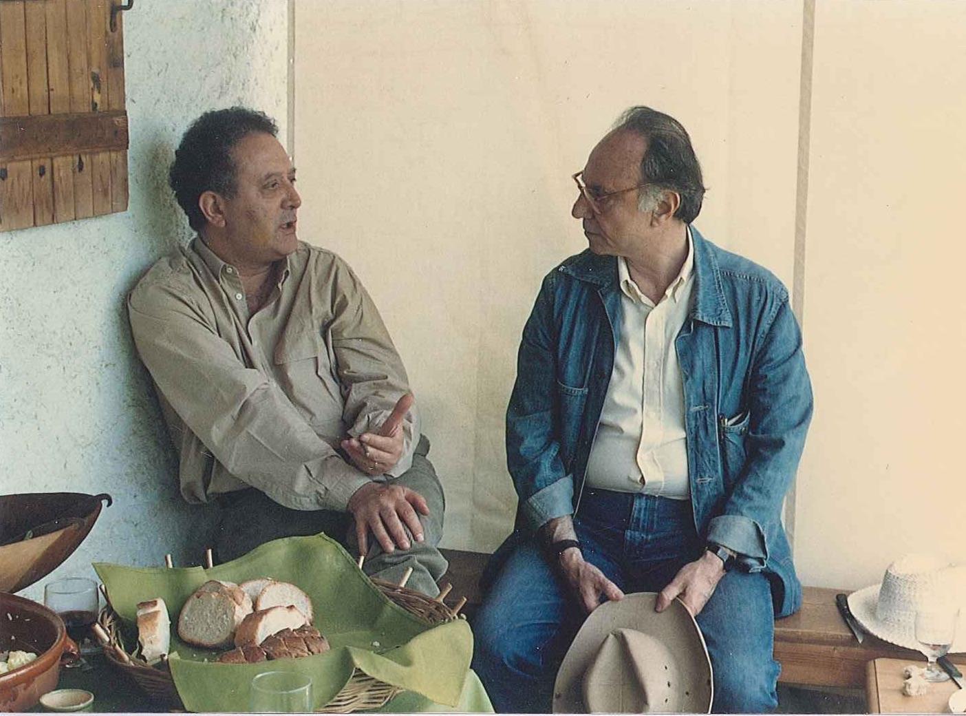 Nicos Nicolaïdis e André Green